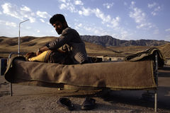 1993 северный Ирак - Курдистан Стоковое Изображение RF