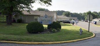 Северный комплекс апартаментов озера, Мемфис, TN стоковые изображения