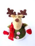 северный олень плюша рождества Стоковое Изображение RF