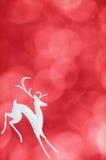 северный олень праздника предпосылки Стоковые Изображения RF