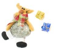 Северный олень рождества Стоковое Фото