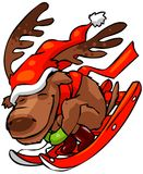 северный олень рождества 3 бесплатная иллюстрация