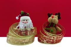северный олень santa рождества Стоковые Фотографии RF