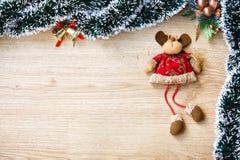 Северный олень рождества плюша Стоковые Фото