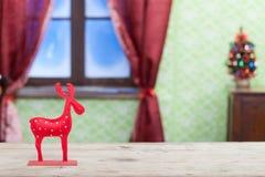 Северный олень рождества Стоковые Изображения RF