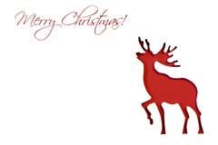 Северный олень рождества Стоковое Изображение RF