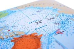 Северный полюс Стоковая Фотография