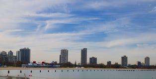 Северный пляж бульвара Стоковые Изображения