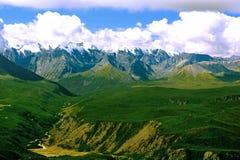 Северный ряд Chuysky от высоты Стоковая Фотография