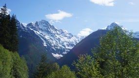 Северный ряд Moutain каскада, штат Вашингтон, США стоковое фото rf