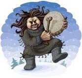 Северный шаман Стоковые Фото
