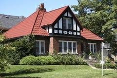 Североамериканская домашняя резиденция Стоковые Фото