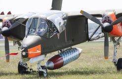 Североамериканский мустанг Rockwell OV-10 Стоковые Фото