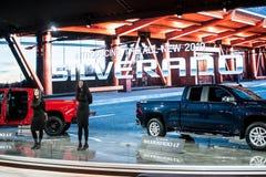 2018 североамериканских международных автосалонов стоковые изображения