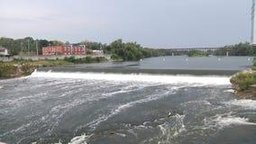 Североамериканское река Ландшафт акции видеоматериалы