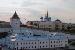 Северо-восточная часть Казани Кремля Татарстан, Россия Стоковые Изображения RF