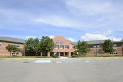 Северо-западное Lehigh Highschool в новом Триполи, Pennsy стоковые изображения rf