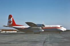 Северо-западный территориальный Lockheed L-100 Геркулес Стоковое фото RF