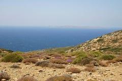 север Крита восточный Стоковая Фотография RF