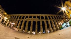 Сеговия Aquaduct Стоковые Изображения RF