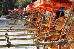седан рядка стула Стоковое Изображение RF