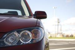 седан фары автомобиля Стоковые Фотографии RF
