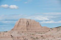 седловина пропуска национального парка неплодородных почв Стоковое Изображение