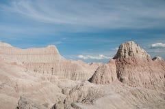 седловина пропуска национального парка неплодородных почв Стоковое фото RF