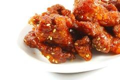 сезам pow kung цыпленка стоковые изображения rf