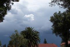 Сезонная бурная погода Gauteng Южная Африка лета стоковые фотографии rf