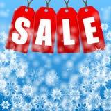 Сезонная продажа рождества иллюстрация вектора