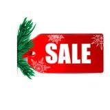 Сезонная продажа рождества бесплатная иллюстрация