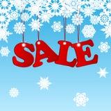 Сезонная продажа рождества Стоковое фото RF