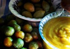 Сезонное варенье плодоовощ и сливы Стоковые Фотографии RF