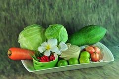 Сезонный vegetable Таиланд Стоковая Фотография RF