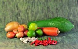 Сезонный vegetable Таиланд Стоковое Изображение RF