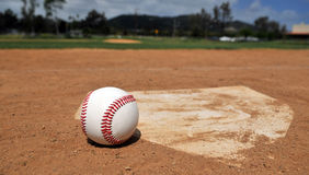 сезон бейсбола Стоковая Фотография