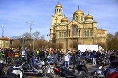 Сезон 2016 Варна мотоцикла отверстия, Болгария Стоковое Изображение RF