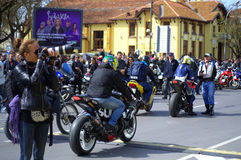Сезон 2016 Варна мотоцикла отверстия, Болгария Стоковые Изображения RF