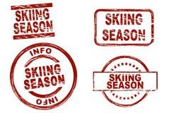 Сезон катания на лыжах Стоковые Фотографии RF