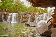 Сезон лета водопада в Таиланде Стоковая Фотография
