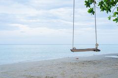 Сезон лета на пляже стоковое изображение