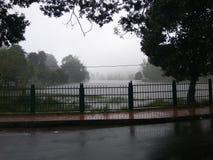 Сезон муссона для облаков, который нужно прийти вниз Стоковое Изображение RF