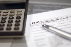 Сезон налога стоковое изображение