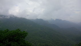 Сезон дождей в зоне холма Стоковые Изображения
