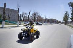 Сезон охоты на ATVs Стоковая Фотография