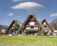 Сезон падения исторических деревень Shirakawa-идет и Gokayama, j стоковые фото