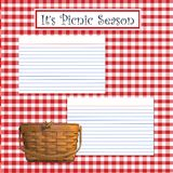 сезон пикника иллюстрация вектора