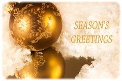 сезон приветствиям s карточки Стоковые Фото