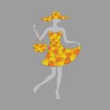 Сезон продажи падения осени (концепция моды дела покупок рекламы) Стоковое Фото